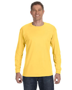 Island Yellow 5.6 oz., 50/50 Heavyweight Blend™ Long-Sleeve T-Shirt