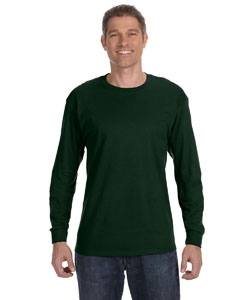 Forest Green 5.6 oz., 50/50 Heavyweight Blend™ Long-Sleeve T-Shirt