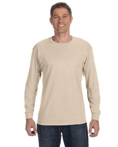 Sandstone 5.6 oz., 50/50 Heavyweight Blend™ Long-Sleeve T-Shirt