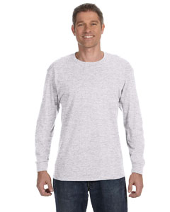 Ash 5.6 oz., 50/50 Heavyweight Blend™ Long-Sleeve T-Shirt