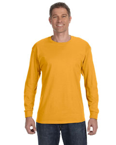 Gold 5.6 oz., 50/50 Heavyweight Blend™ Long-Sleeve T-Shirt