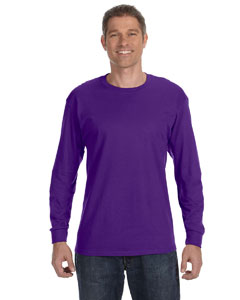 Deep Purple 5.6 oz., 50/50 Heavyweight Blend™ Long-Sleeve T-Shirt