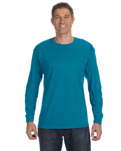 California Blue 5.6 oz., 50/50 Heavyweight Blend™ Long-Sleeve T-Shirt