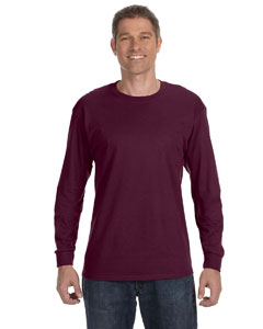 Maroon 5.6 oz., 50/50 Heavyweight Blend™ Long-Sleeve T-Shirt