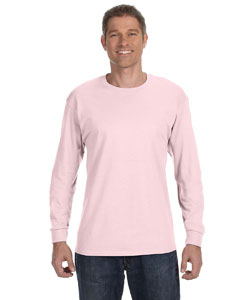 Classic Pink 5.6 oz., 50/50 Heavyweight Blend™ Long-Sleeve T-Shirt