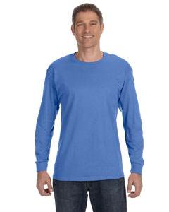 Columbia Blue 5.6 oz., 50/50 Heavyweight Blend™ Long-Sleeve T-Shirt
