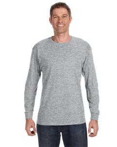 Athletic Heather 5.6 oz., 50/50 Heavyweight Blend™ Long-Sleeve T-Shirt