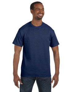 J Navy Adult 5.6 oz., DRI-POWER® ACTIVE T-Shirt