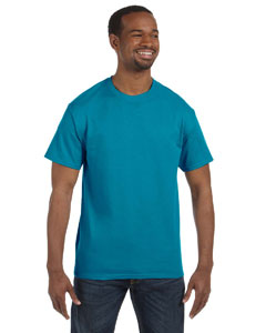 California Blue 5.6 oz., 50/50 Heavyweight Blend™ T-Shirt