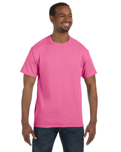 Neon Pink 5.6 oz., 50/50 Heavyweight Blend™ T-Shirt