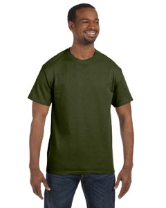 Military Green 5.6 oz., 50/50 Heavyweight Blend™ T-Shirt