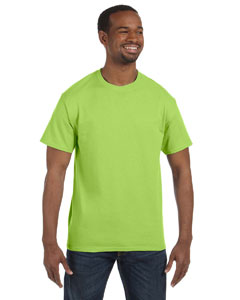 Neon Green 5.6 oz., 50/50 Heavyweight Blend™ T-Shirt