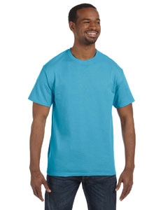 Aquatic Blue 5.6 oz., 50/50 Heavyweight Blend™ T-Shirt