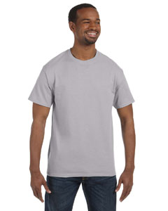 Silver 5.6 oz., 50/50 Heavyweight Blend™ T-Shirt
