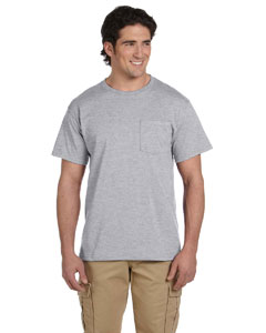 Oxford Adult 5.6 oz. DRI-POWER® ACTIVE Pocket T-Shirt