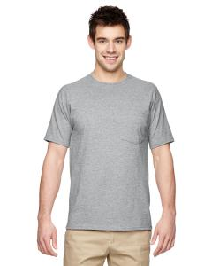 Athletic Heather Adult 5.6 oz. DRI-POWER® ACTIVE Pocket T-Shirt