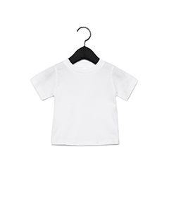 White Infant Jersey Short Sleeve T-Shirt