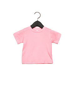 Pink Infant Jersey Short Sleeve T-Shirt