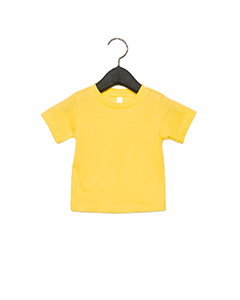 Yellow Infant Jersey Short Sleeve T-Shirt
