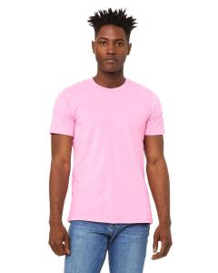 Hthr Bubble Gum Unisex Heather CVC T-Shirt