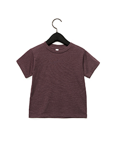 Heather Maroon Toddler Jersey Short-Sleeve T-Shirt