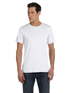 White Unisex Made in the USA Jersey Short-Sleeve T-Shirt