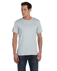 Silver Unisex Made in the USA Jersey Short-Sleeve T-Shirt