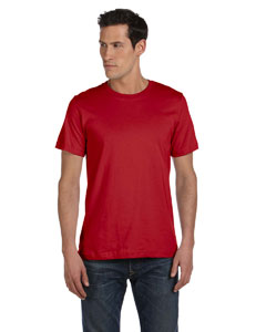 Canvas Red Unisex Made in the USA Jersey Short-Sleeve T-Shirt
