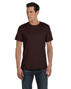 Brown Unisex Made in the USA Jersey Short-Sleeve T-Shirt