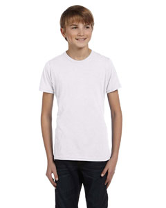 White Youth Jersey Short-Sleeve T-Shirt