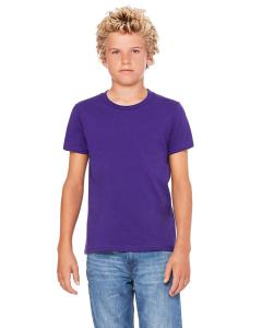 Team Purple Youth Jersey Short-Sleeve T-Shirt