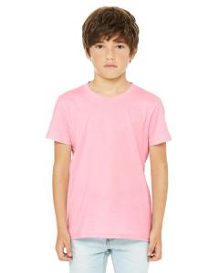 Pink Youth Jersey Short-Sleeve T-Shirt