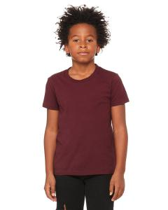 Maroon Youth Jersey Short-Sleeve T-Shirt