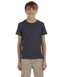 Dark Grey Heather Youth Jersey Short-Sleeve T-Shirt