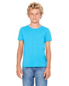 Neon Blue Youth Jersey Short-Sleeve T-Shirt