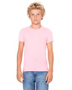 Neon Pink Youth Jersey Short-Sleeve T-Shirt
