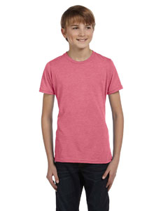 Lt Red Triblend Youth Jersey Short-Sleeve T-Shirt