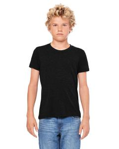 Black Heather Youth Jersey Short-Sleeve T-Shirt
