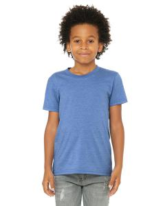 Hthr Colum Blue Youth Jersey Short-Sleeve T-Shirt