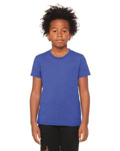 Heather Tru Royl Youth Jersey Short-Sleeve T-Shirt