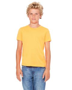 Neon Orange Youth Jersey Short-Sleeve T-Shirt