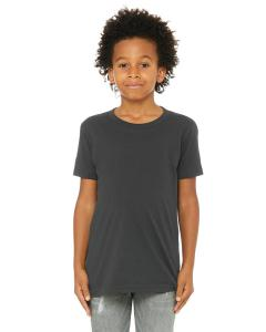 Dark Grey Youth Jersey Short-Sleeve T-Shirt