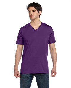 Team Purple Unisex Jersey Short-Sleeve V-Neck T-Shirt