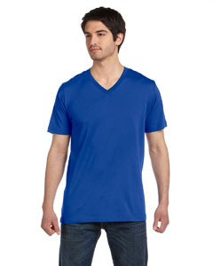 True Royal Unisex Jersey Short-Sleeve V-Neck T-Shirt