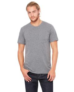Deep Heather Men's Jersey Short-Sleeve Pocket T-Shirt