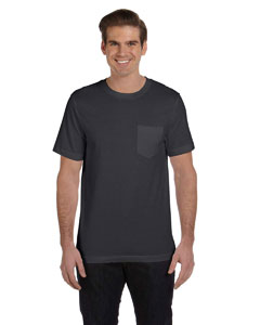 Dk Grey Hthr Men's Jersey Short-Sleeve Pocket T-Shirt