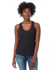 Black Ladies' Slinky-Jersey Tank Top