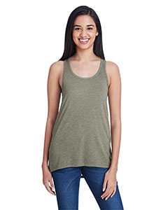 Hthr City Green Ladies Freedom Tank