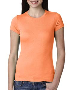 Neon Hthr Orang Ladies' Perfect Tee
