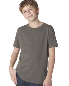 Warm Gray Boys' Premium Short-Sleeve Crew Tee
